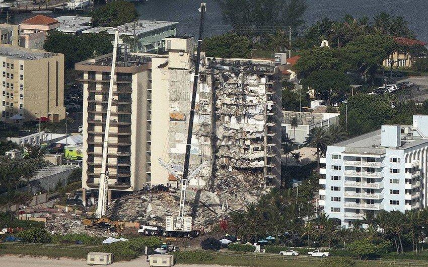 Увеличилось число погибших при обрушении здания во Флориде