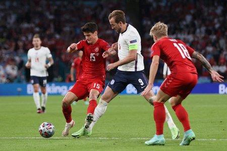 Сборная Англии впервые в истории вышла в финал Евро