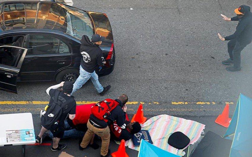 В США мужчина протаранил клуб и открыл стрельбу по посетителям