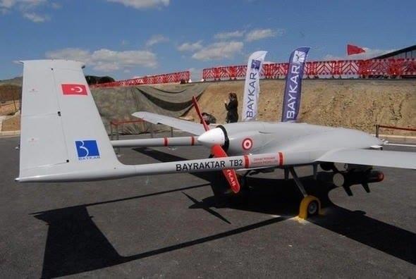 Украина получила первый беспилотник Bayraktar TB2