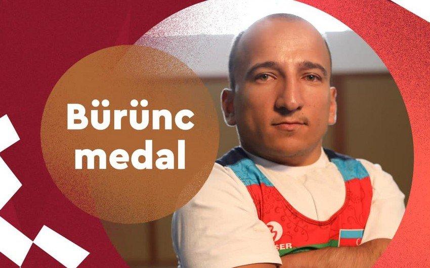 Первая медаль Азербайджана на Паралимпийских играх