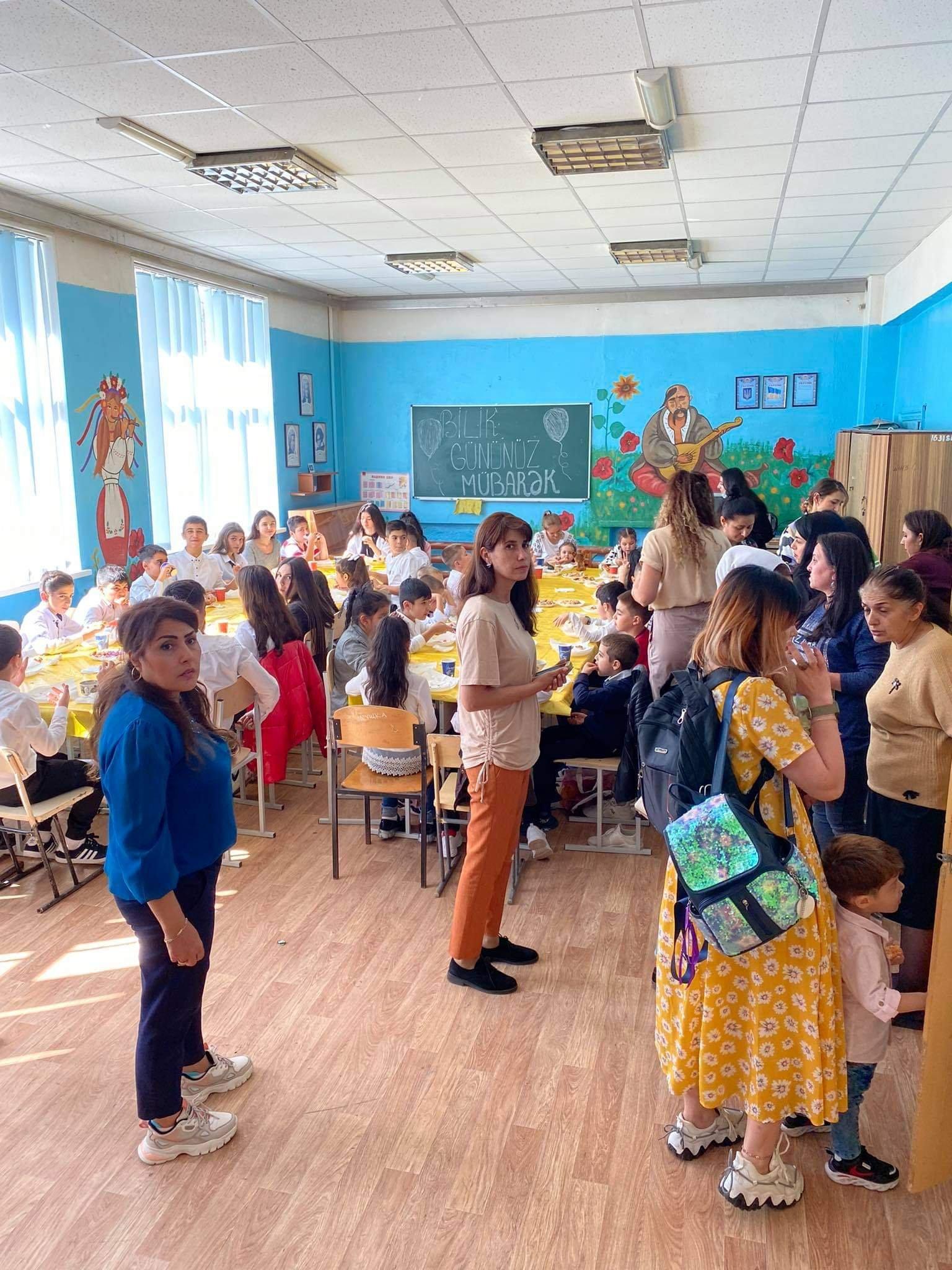 Культурно-образовательный центр «Достлуг» открывал новый учебный год