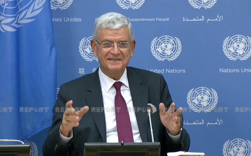 Глава Генассамблеи ООН рассказал о своем визите в Азербайджан