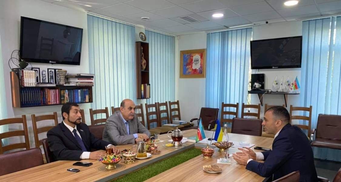 Рада Азербайджанцев Украины расширяет связи с арабской диаспорой