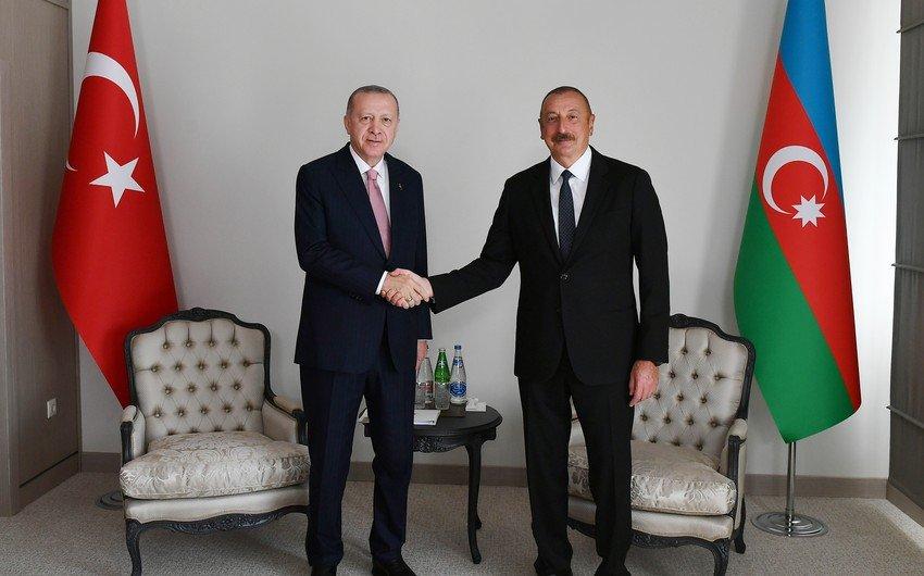 Эрдоган позвонил президенту Ильхаму Алиеву