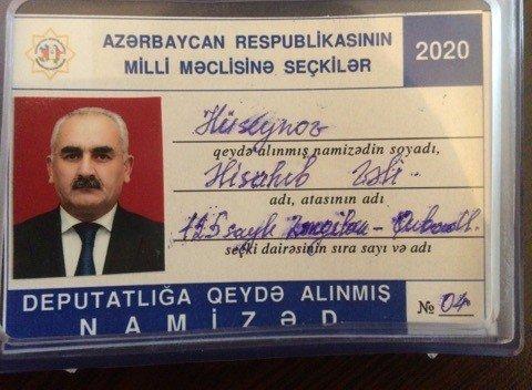 Partiya sədrinin deputatlığa namizədliyi qeydə alınıb