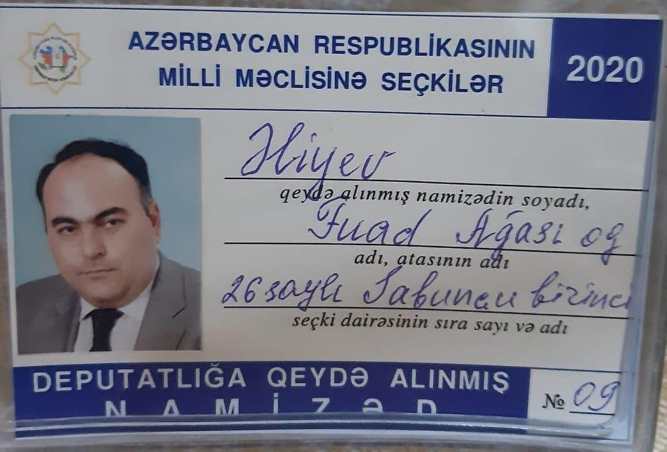 ALDP sədrinin deputatlığa namizədliyi qeydə alındı