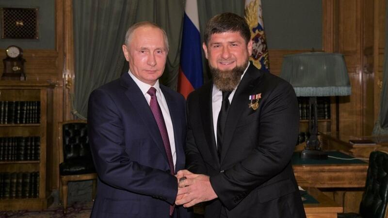 Kadırov Putinin sağ qolu olacaq