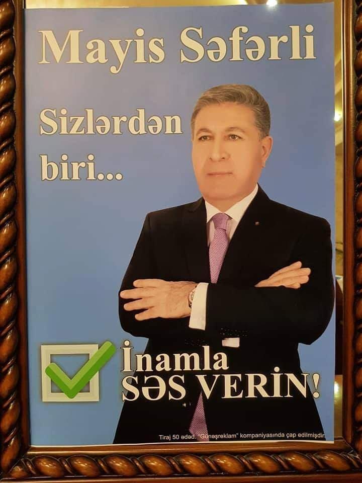 Millət vəkilliyinə layiq namizəd -  Mais Səfərli