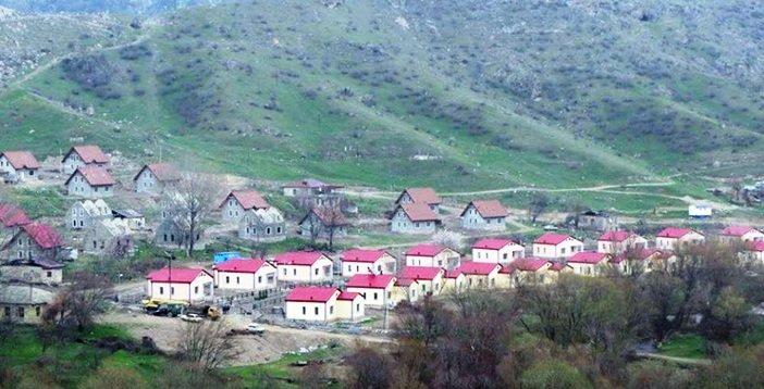 Ermənilər Laçında 100 yeni ev tikir – Süni məskunlaşdırma - VİDEO