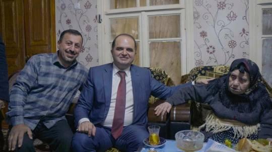 Gələcəyin keçmişlə görüşü: Rəşad Mahmudov rayonun ən yaşlı seçicisi ilə görüşdü...