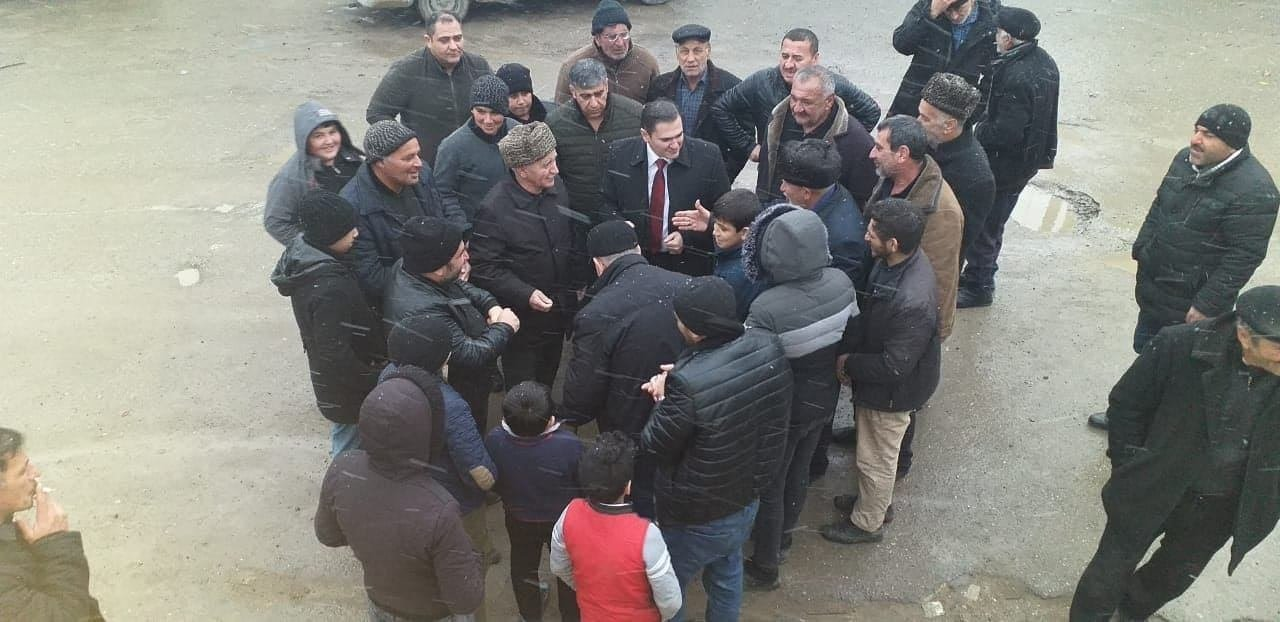 Fərman Salmanlı Hökməlidə seçiciləri ilə görüşüb