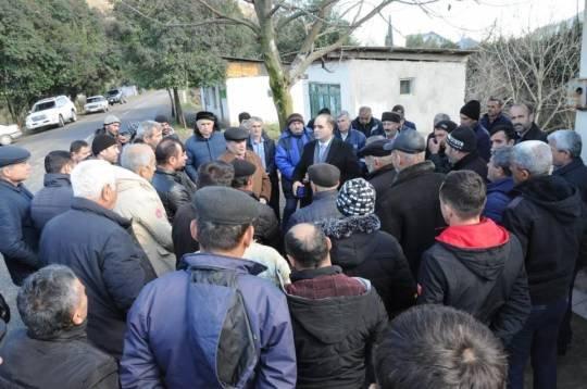 Rəşad Mahmudov sərhəd kəndində: Seçicilər burada da namizədi coşqunluqla qarşıladı...