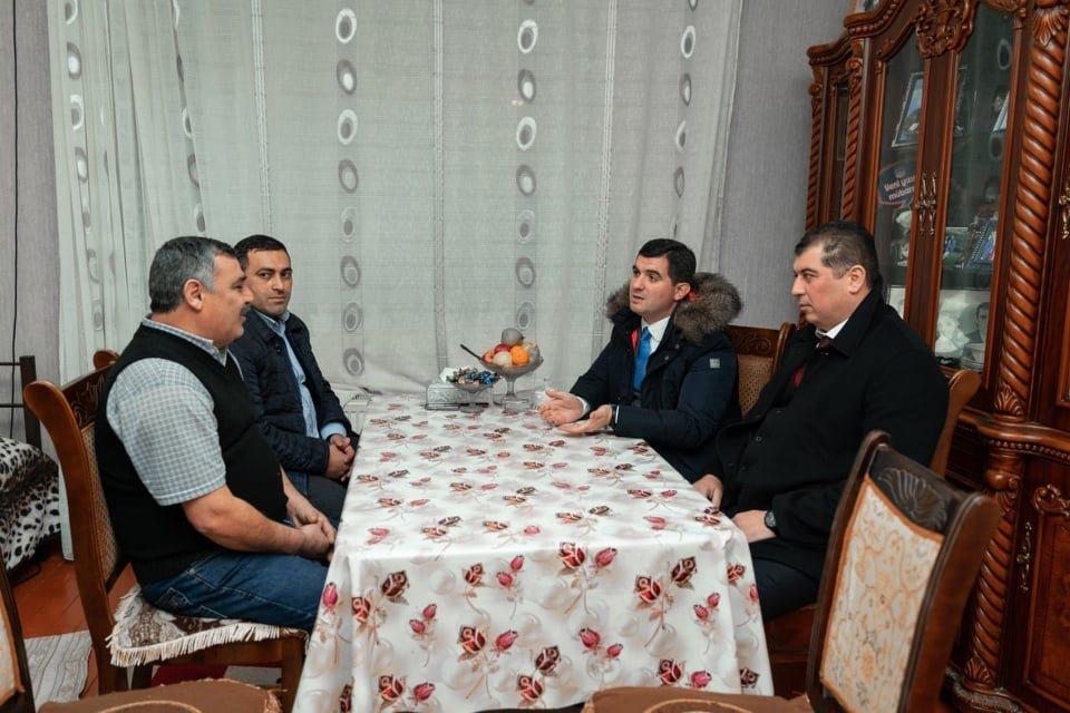 Emin Əliyev seçki kampaniyasını uğurla davam etdirir - FOTOLAR