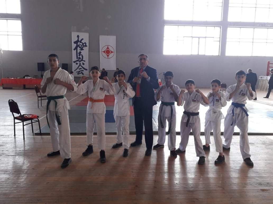 Şabranlı karateçilərin uğurları