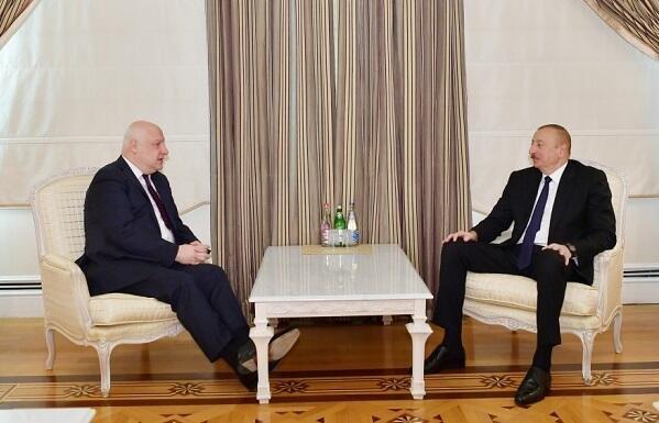 İlham Əliyev ATƏT PA prezidenti ilə görüşdü