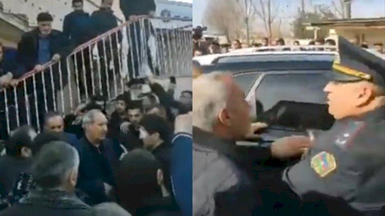 Kamil Musəvi ilə Fəzail Ağamalı üz-üzə gəldi, ara qarışdı - Video