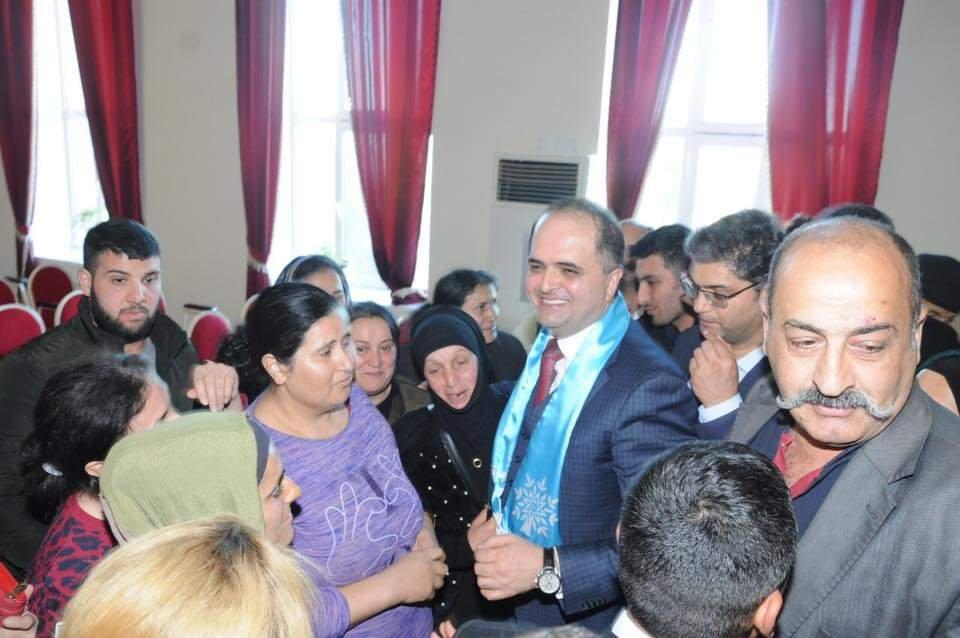 Rəşad Mahmudov Astarada seçicilərilə möhtəşəm görüş keçirib