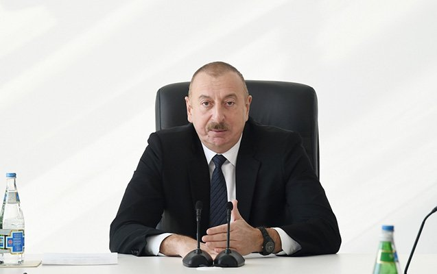 Azərbaycan heç kimin qarşısında baş əyməyəcək - İlham Əliyev