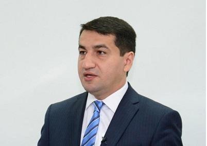 Bir daha erməni yalanlarının ifşasını gördük – Hacıyev
