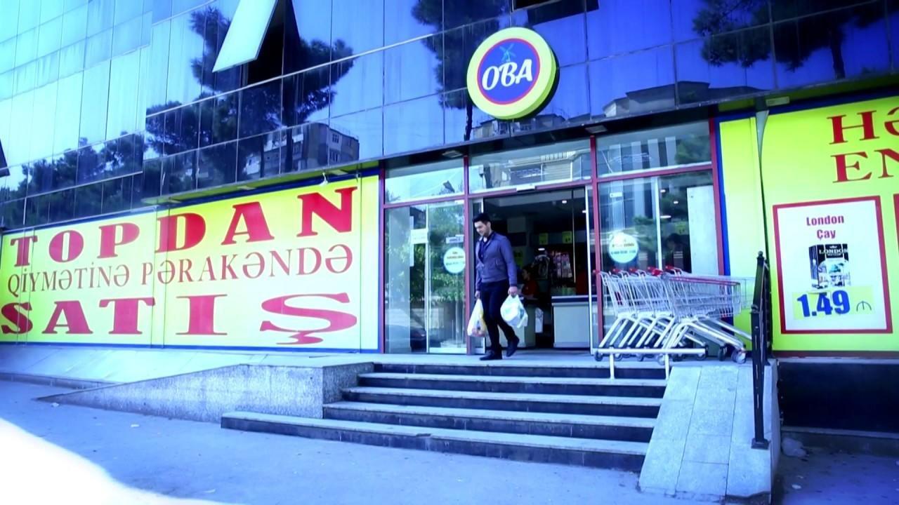OBA marketin qadın satıcısı bıçaqlandı