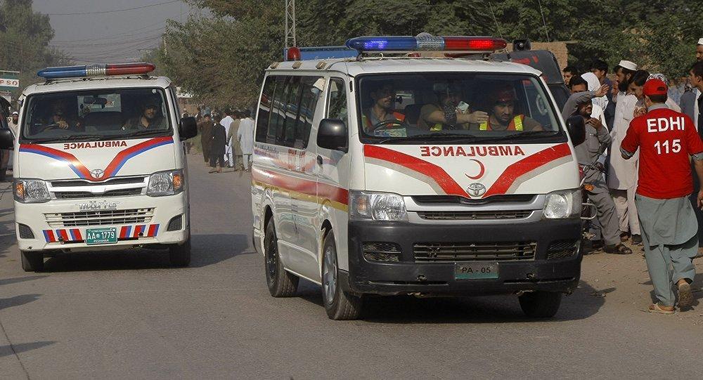 Pakistanda partlayış: 14 ölü, 500 yaralı