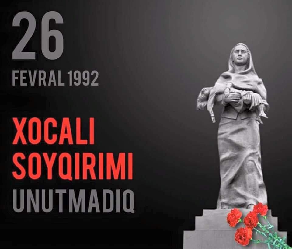 Xocalı soyqırımı bütün bəşəriyyətə tarixi bir cinayətdir - Professor