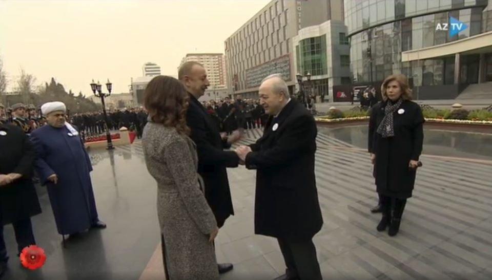 Prezident İlham Əliyev Ayaz Mütəllibovla görüşdü - Foto