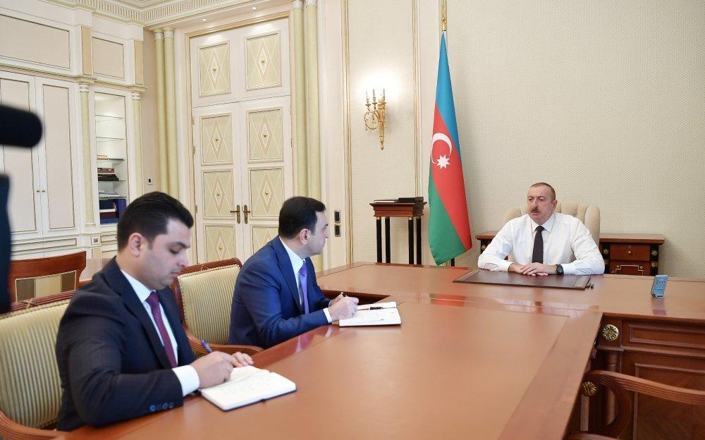 İlham Əliyev yeni icra başçılarını qəbul etdi - FOTO