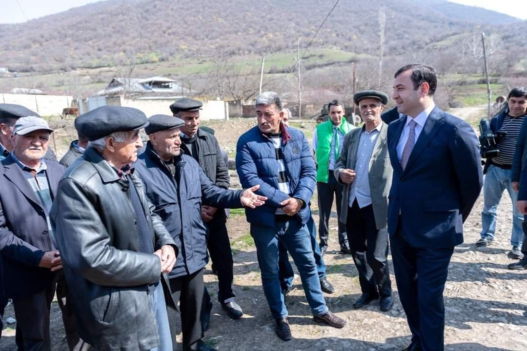 İlk aqrar səyyar xidmət İsmayıllı rayonunun Talıstan kəndində