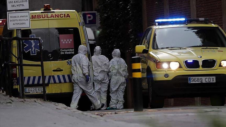 İspaniyada bir gündə 400-ə yaxın şəxs koronavirusdan öldü