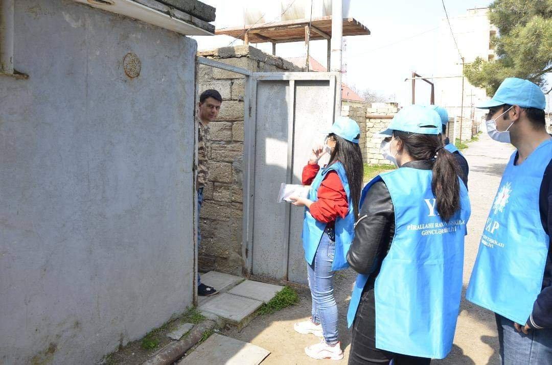 """""""Sağlamlığımız milli həmrəyliyimizdədir"""" adlı aksiya davam edir"""