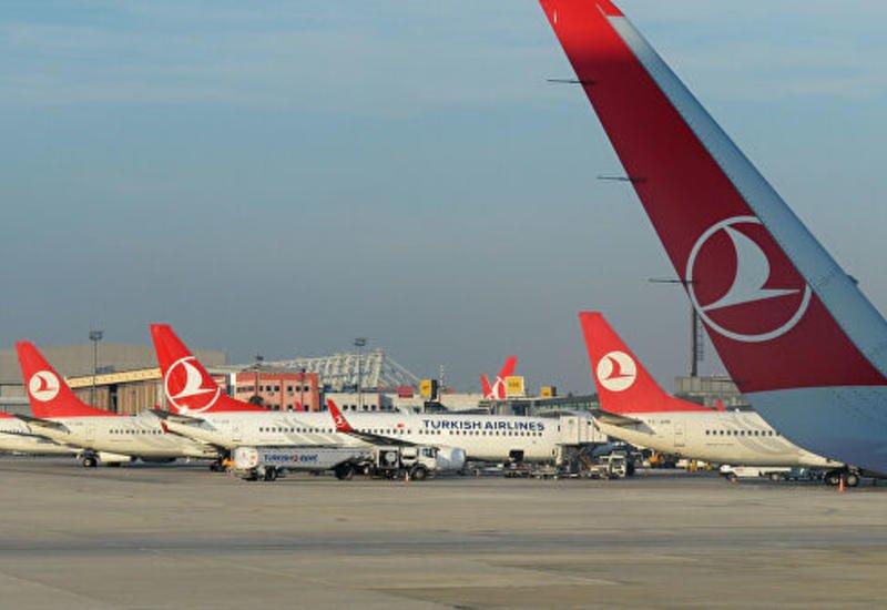 Türk Hava Yolları bütün beynəlxalq uçuşları dayandırdı