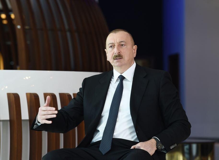 """İlham Əliyev: """"Pandemiya həyatımıza müdaxilə edərək bizim planlarımızı pozdu"""""""