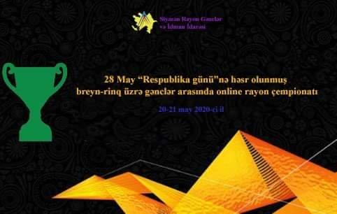 Siyəzəndə breyn-rinq üzrə gənclər arasında online çempionat keçirilib