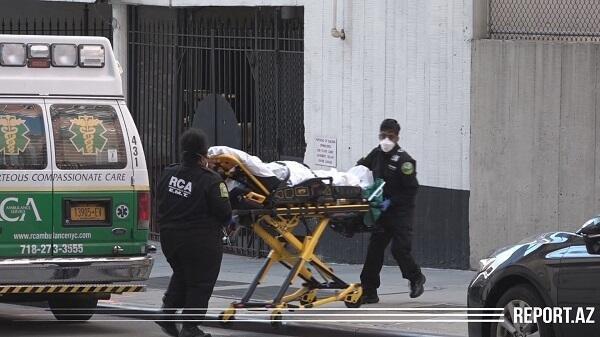 ABŞ-da son durum: ölü sayı 100 minə çatır