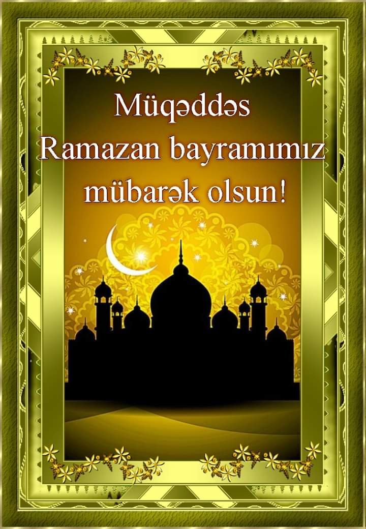 Azərbaycanda Ramazan bayramıdır