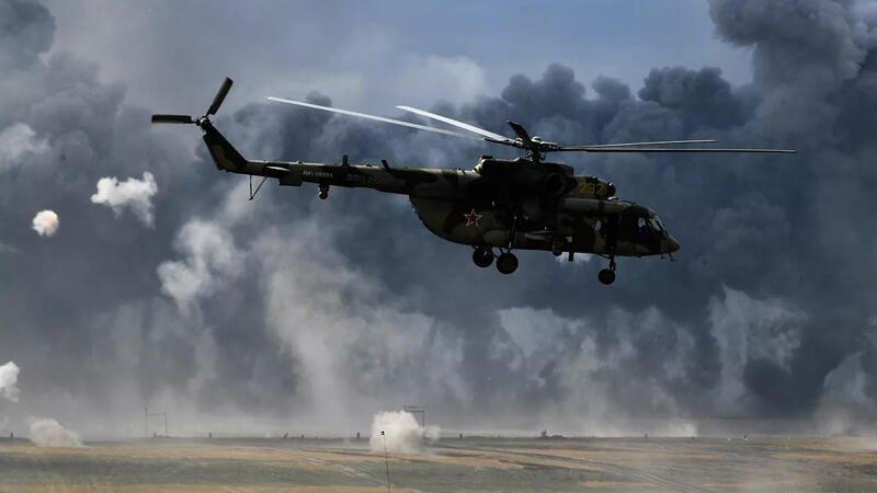 Helikopter qəzası - 4 nəfər öldü