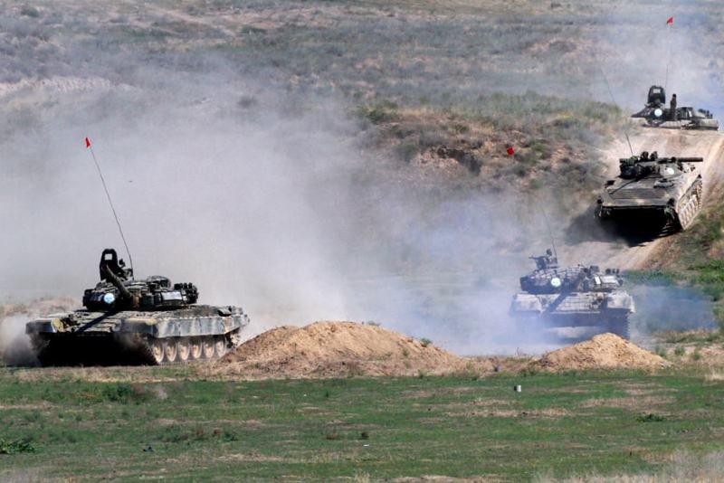 Ermənistan ordusu Ağdamda yeni hərbi təlimlər keçirdi – VİDEO