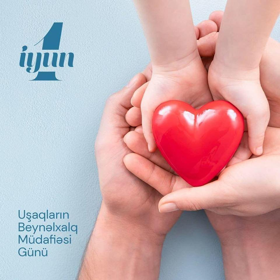 Hər gün uşaqlara sevgi, qayğı, diqqət və sevinc bəxş etməliyik