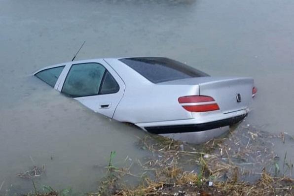Masallıda avtomobil kanala aşdı, sürücü öldü