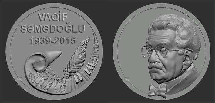 """Bu şəxslər """"Vaqif Səmədoğlu"""" medalı ilə təltif edildi - Foto"""