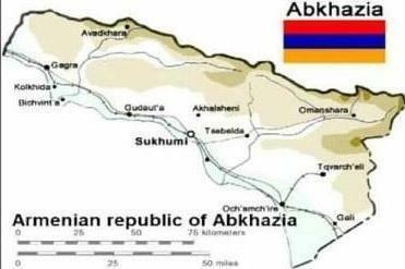 Ermənilər bu dəfə Abxaziyanı istəyirlər