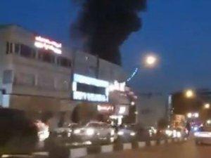 Tehranda xəstəxanada partlayış