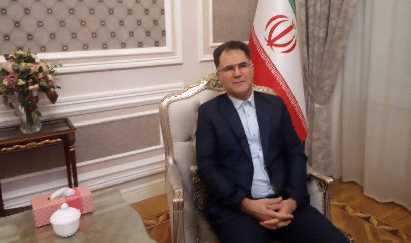 İran səfirliyinin rəsmisi baş redaktorun ölümü ilə bağlı başsağlığı verib