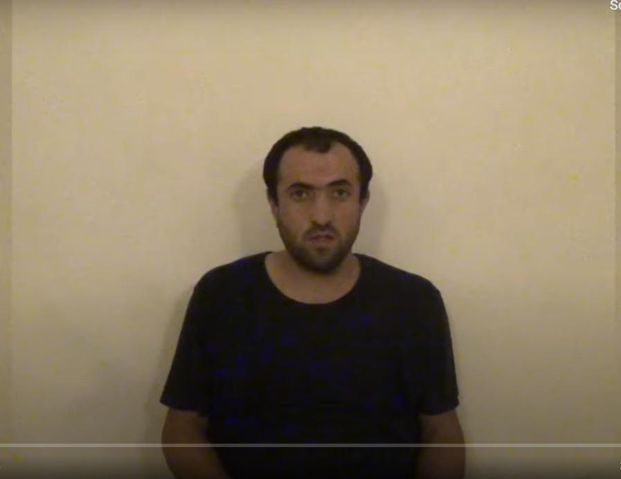 Ermənistan vətəndaşı Azərbaycana keçdi - VİDEO