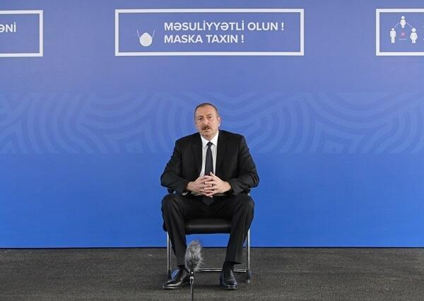 Azərbaycan əsgəri düşməni yerinə oturtdu - Prezident