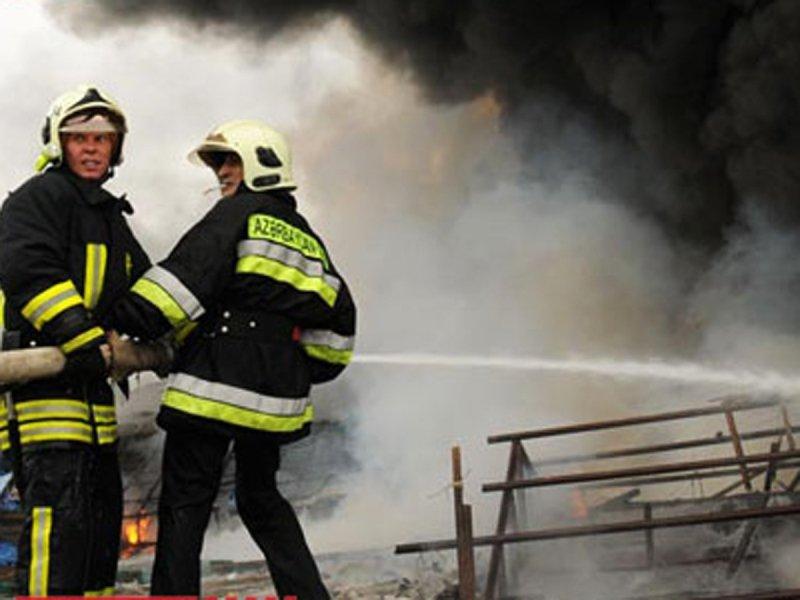 Siyəzəndə dəhşətli yanğında 2 nəfər öldü- cinayət işi açıldı