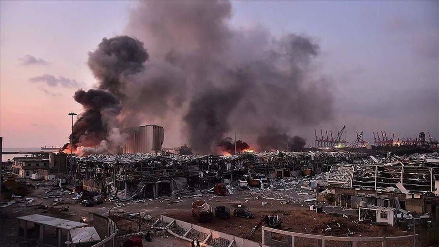 Beyrutdakı partlayışda ölənlərin sayı 154-ə çatdı