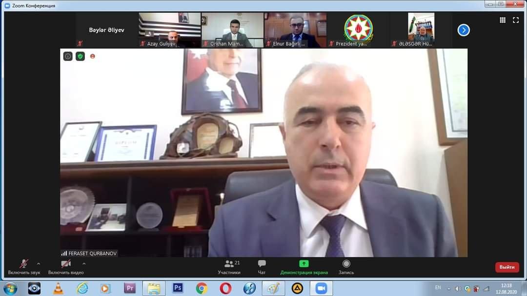 Şura və Agentlik qalib QHT-lərlə onlayn görüş keçirib - FOTO